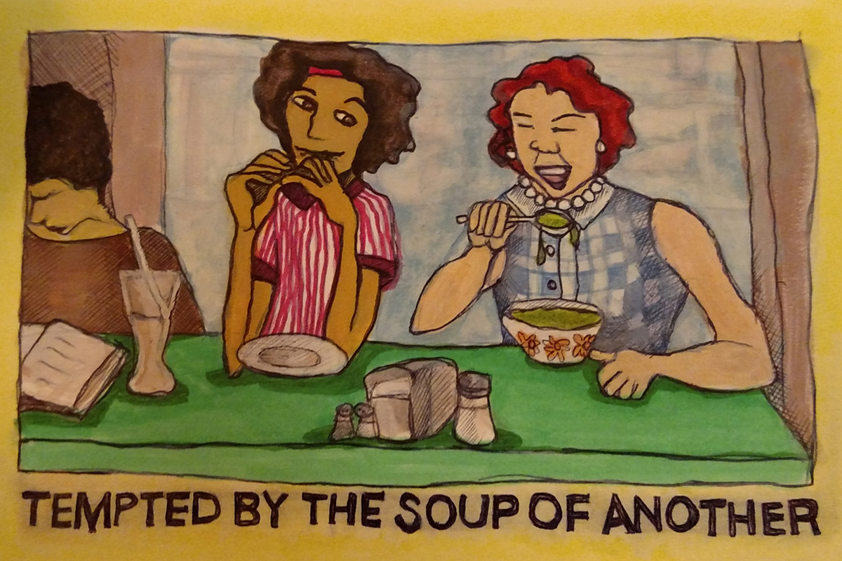 Tempted by the Soup of Another